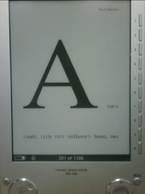 [ebook on Sony reader]